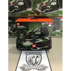 Caixa Jbl Charge 3 Camuflada 100% Original Camuflado