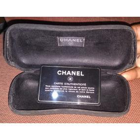 Estojo Original Vazio Oculos Chanel Com Cartão Autencidade 6c7e2a8c27