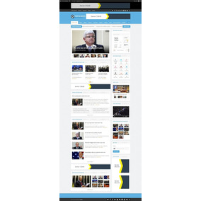 Sistema Php Pronto Jornal Online Layout Varias Cores - Informática ... 3147cdc128b76