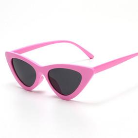 Óculos Sol Gatinho Lolita Cat Eye Rosa E Preto Retrô Tumblr d5eda2da5a