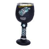 1 Taça Game Of Thrones Calice Medieval Vinho Caneca Aço Inox