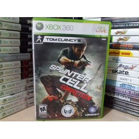 Jogo Splinter Cell Conviction Xbox 360 Original Mídia Física