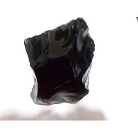 Obsidiana Negra Bruta - K0380 Prosperity Minerais