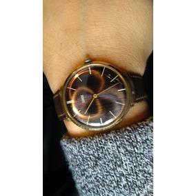 Precioso Reloj Extraplano Francés De Cuerda Swank