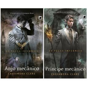 Livro As Peças Infernais - Anjo E Príncipe Mecânico