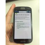Samsung Galaxy I9305 Galaxy S3 4g 8mp - Tela De Demonstração