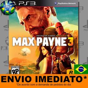 Jogo Max Payne 3 - Promoção Pronta Entrega Ps3 | Leg. Pt-br