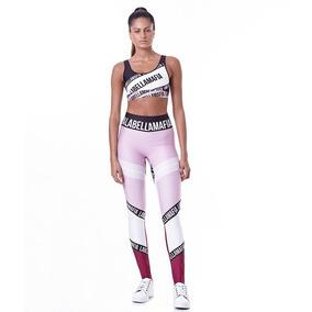 96717fd70 Conjunto Fitness Labellamafia Printed Sets World Lançamento
