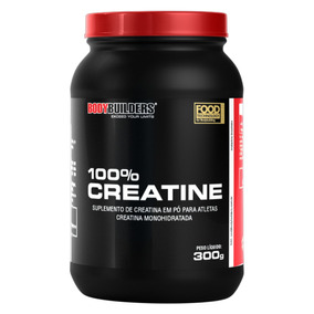 100% Creatina 300g - Bodybuilders