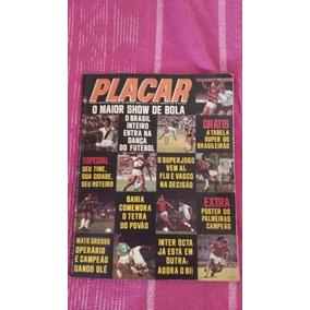 Revista Placar Edição 333, Ano 1976 Com Tabelão E Poster