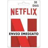 Cartão Pré-pago Conta Netfix Envio Imediato