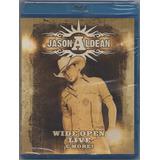 Blu-ray Show Jason Aldean: Wide Open Live - Lacrado & Orig.