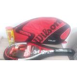 462b6ad1a Raquete Tenis Wilson Roger Federer 110 - Tênis e Squash no Mercado ...