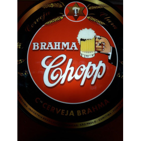 Luminoso Decorativo Cerveja Brahma Chopp Vintage Retro Bar