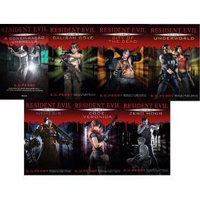 Kit Coleção Resident Evil - 7 Livros - Português