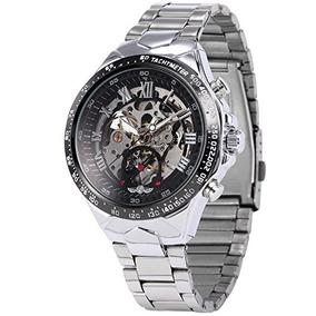 Ampm24 Pmw107 - Reloj Automático Mecánico Hombre, Correa De