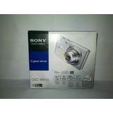 Camara Sony Dsc-w610 Plata Super Imagen
