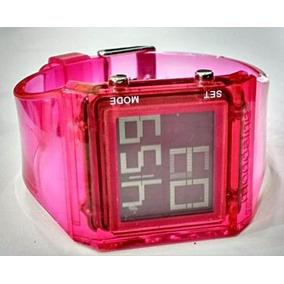 Kit 2 Relógios Feminino Mondaine Digital Esportivo 30 Metros