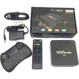 Convertidor Smart Tv Box Android 7 Quad Core 4k Con Teclado