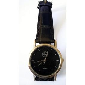 4d30459111e Relógio Masculino Bayer Funcionando Pulseira Couro Legítimo.