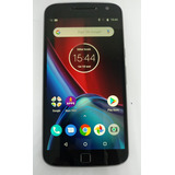 Motorola Xt1640 G4 Plus 32gb Preto C/ Defeito S/ Garantia