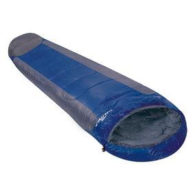 Saco De Dormir Mummy Ntk Azul E Cinza