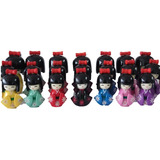 Kit Com 3 Bonecas Kokeshi 12,10,8,5 Cm