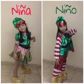 Disfraz Nino Navidad Duende - Disfraces en Mercado Libre México c346f38fce89