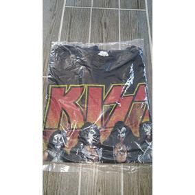 Playera Kiss World Wide Tour 1996 Vintage Antigua Original