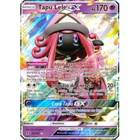 Carta Tapu Lele Gx 60/145 Regular Ultra Rara - Pokémon Tcg