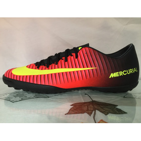 82fe345eaef84 Mercurial Oferta - Tacos y Tenis Nike Negro de Fútbol en Mercado ...