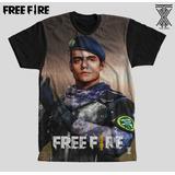 864f9815f0 Camisa Full Free Infantil Fire Br Tropa De Elite Nick Oferta