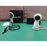 Samsung Videocámara Gear 360 4k Blanca - P