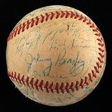 1947 Cardenales De San Luis Equipo Firmado Nl Béisbol Stan M