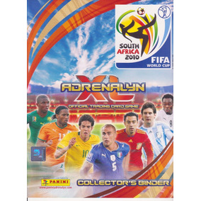 Adrenalyn Xl World Cup 2010 Africa 370 Cards+extras Completo