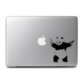 Macbook Decal Sticker De Vinil Adhesivo Panda Banksy