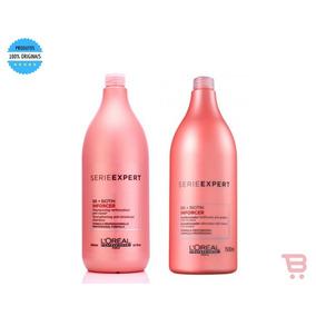 Loreal Profissional Inforce Shampoo Kit 1,5lt + Cond 1,5 Lt
