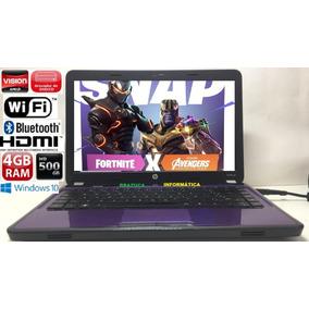 Notebook Hp G4 Amd E350 Vídeo Radeon 4gb 500gb Hdmi Win10