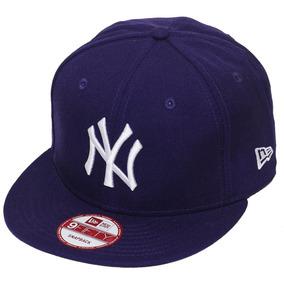 Boné New Era Aba Reta Snapback Mlb Ny Yankees 10 Cores 21c7f2e6e4a