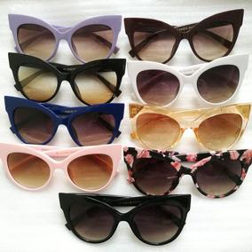 5c4395a03348e Óculos Sol Gatinho Pontudo - Óculos no Mercado Livre Brasil