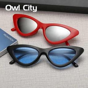Óculos De Sol Olho De Gato Óculos Marca Designer Retro. a49a2a4582