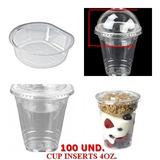 Inserts Cup Separador De 4oz Envases Plasticos Vasos