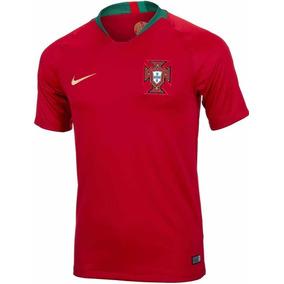 0f62806bf5 Camiseta Portugal Nike Match Vaporknite Mundial 2018 Titular