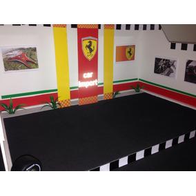 Maquete/diorama Garagem Exposição Ferrari C=50cm
