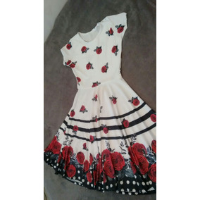 0d31775dd8 Vestido Midi Flores M Suplex Moda Evangélica Promoção