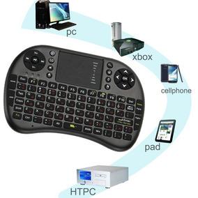 Mini Teclado Touchpad Compatível Com Tv Box, Video Game