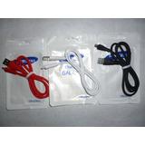 Cable Usb Goma V8 Para Samsung, Huawei, Lg, Zte, Blu
