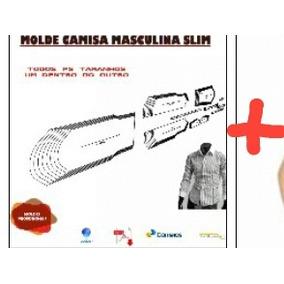 Kit Molde Camisas E Camiseta Long Line Fem. E Masc Todos Tam