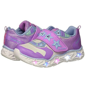 Y Skechers Accesorios Con Para Luces Niñas Ropa Zapatos Ywvwf
