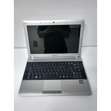Notebook Samsung Amd Dual Core Mem 4gb Hd 500gb C/ Garantia